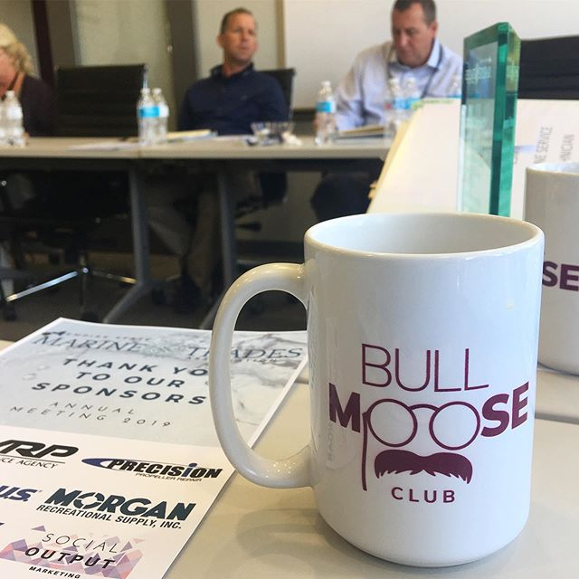 Thanks to @bullmooseclubalbany for hosting us, it's always such a great resource for our team to meet and make stuff happen! ✨