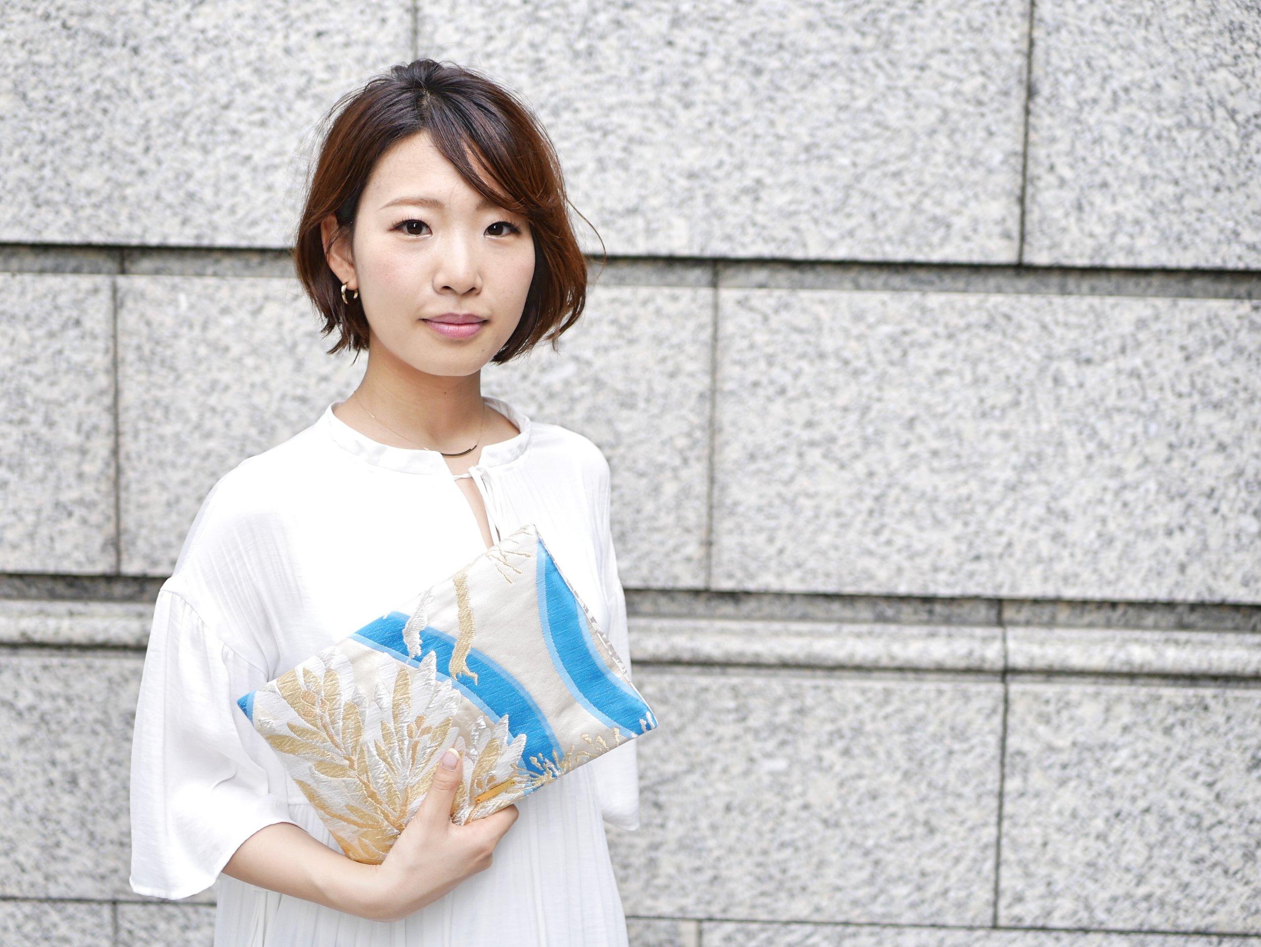 Kumiko Taoka, designer of Tomorrow Fabric