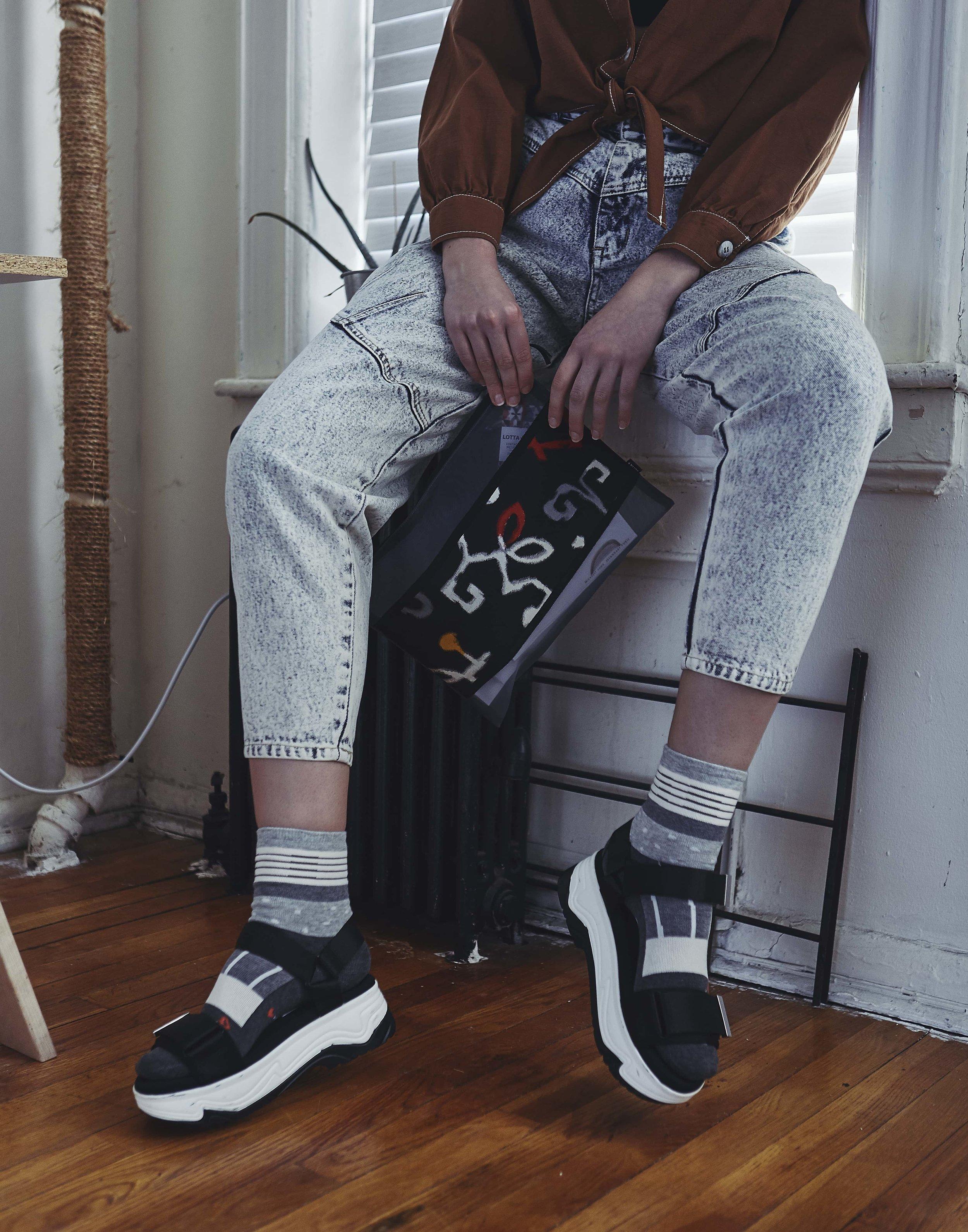 Bag: LOTTA, Socks: empitsukun