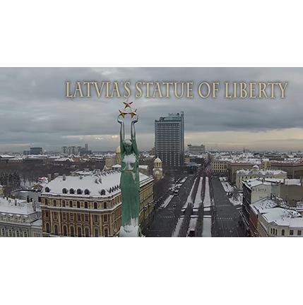 Latvia's Statue of Liberty