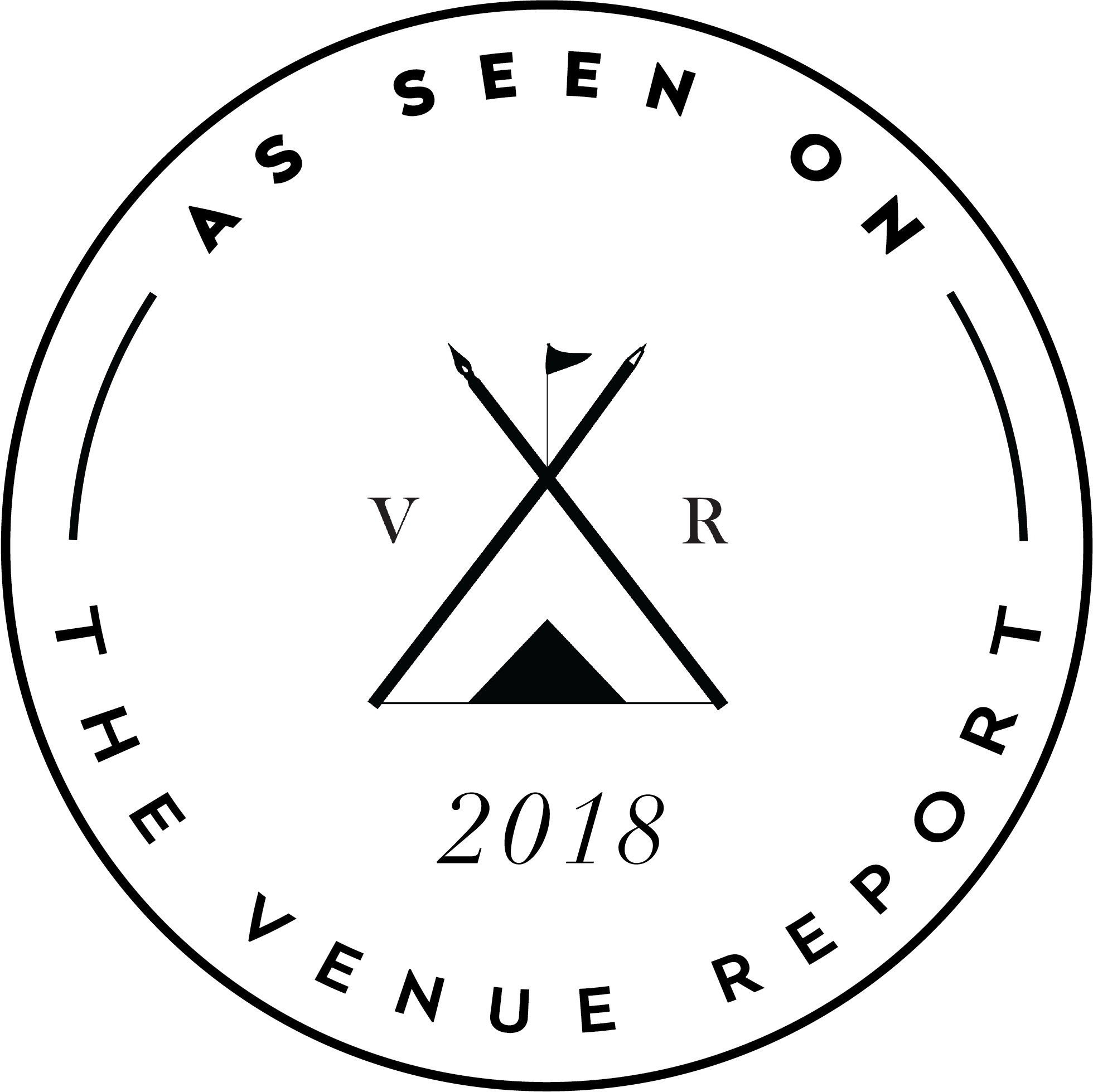 Venue report badge