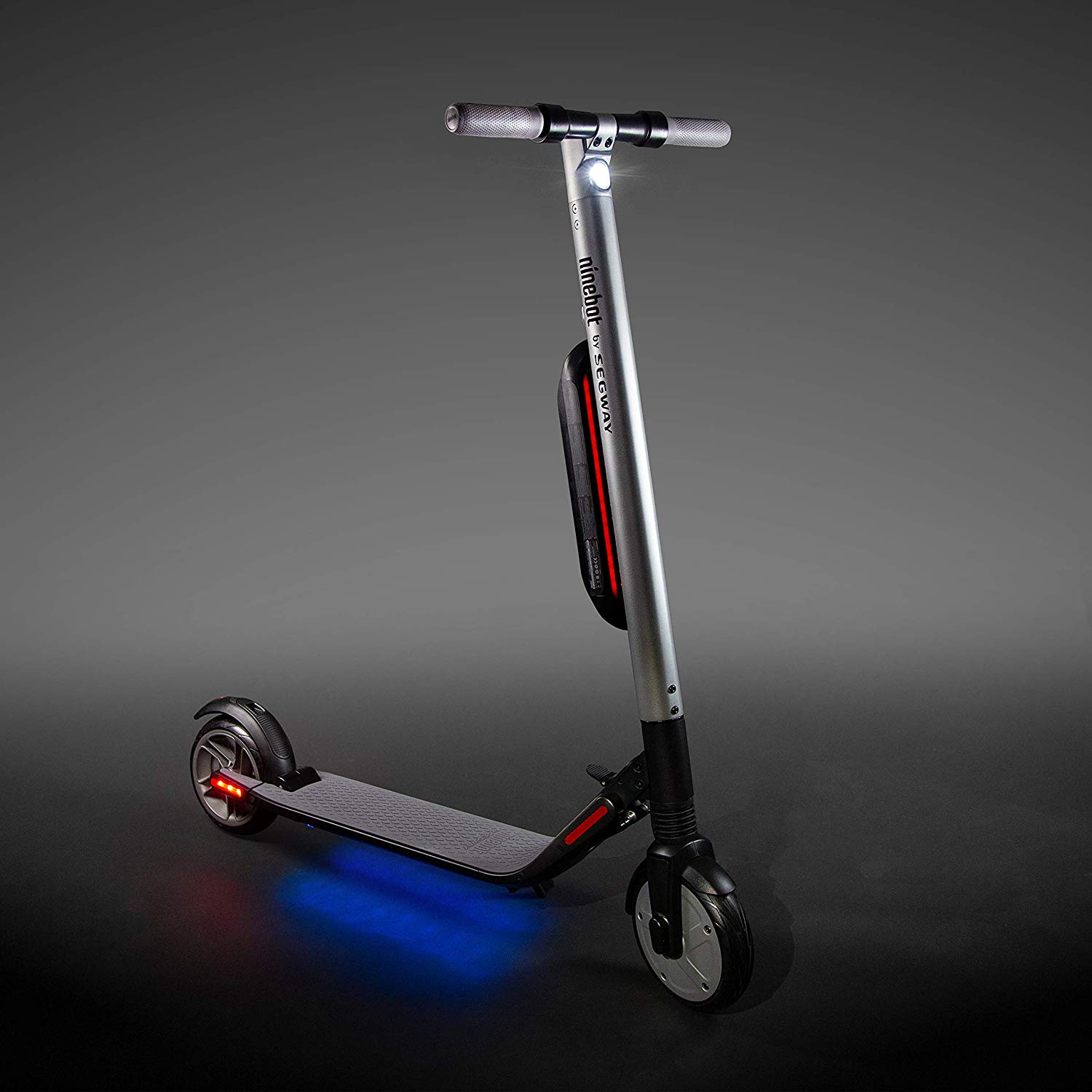 ES4 - Weight- 31 lbs (14 kg)  Max Speed- 19 mph (30 km/h)Range*- 28 miles (45 km) Cruise Control - Set your speed and let the Segway® PT do the work for youWeather Resistant - IP54 Weather Resistant to make transitioning from indoors to outdoors seamlessBluetooth Control - Control the Scooter via Smartphone or Tablet*Actual range depends on riding style and terrain