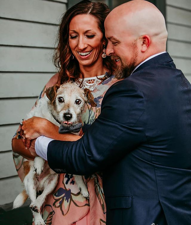 No day is complete without having your best friend by your side.  #dogwedding #instadog #dogoftheday #weddingstyle #instalove #weddingsog #mansbestfriend #jackrussel #dogstagram #michiganweddingphotographer #midwestwedding #midwestweddingphotographer #dogs #weddinginspo #bridetobe #isaidyes #weddetroit #asseenindayton #annarbormichigan @bridesmagazine @brides