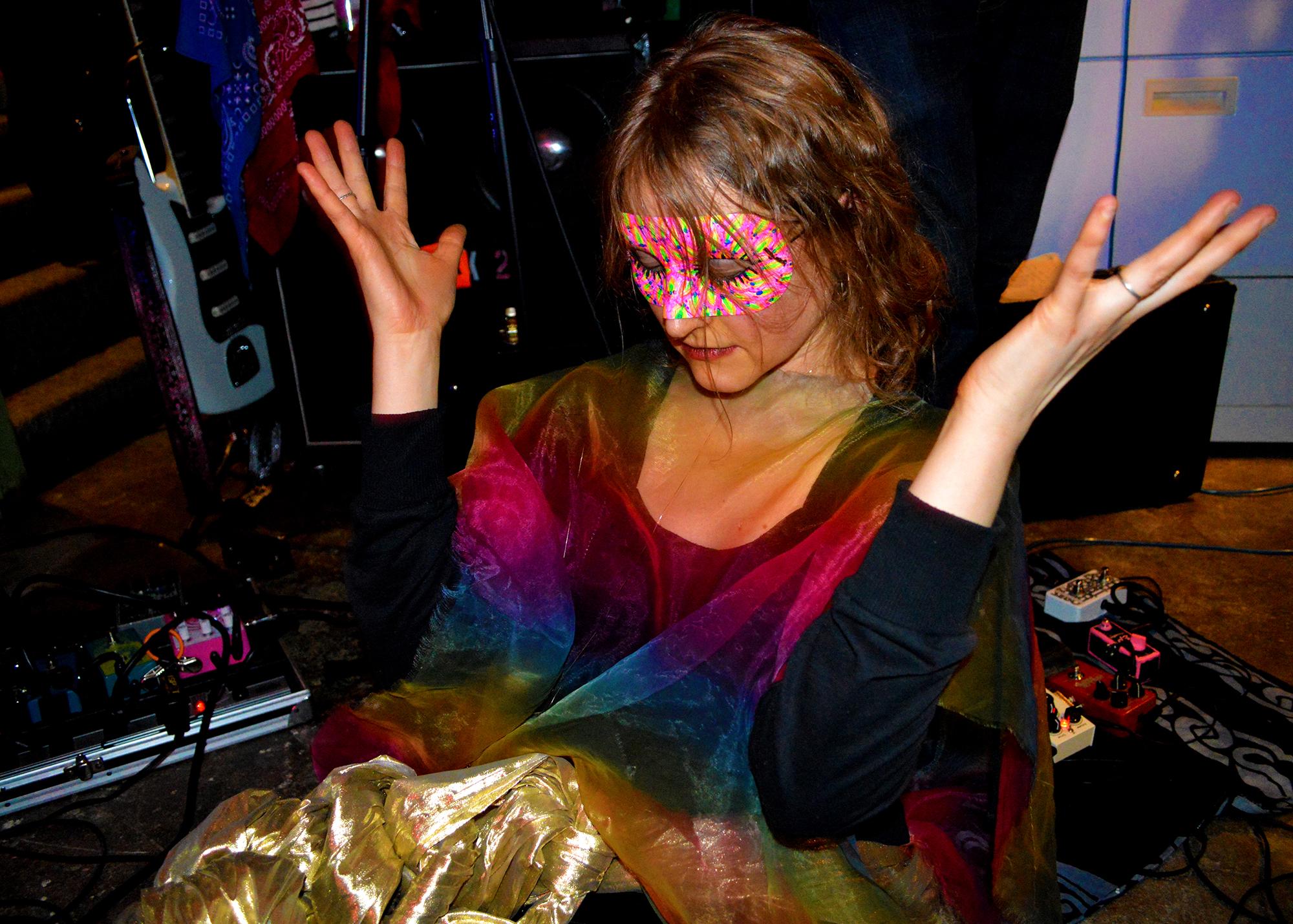 """Erin McDonald danced as the """"snake"""" for Snake Dance!"""