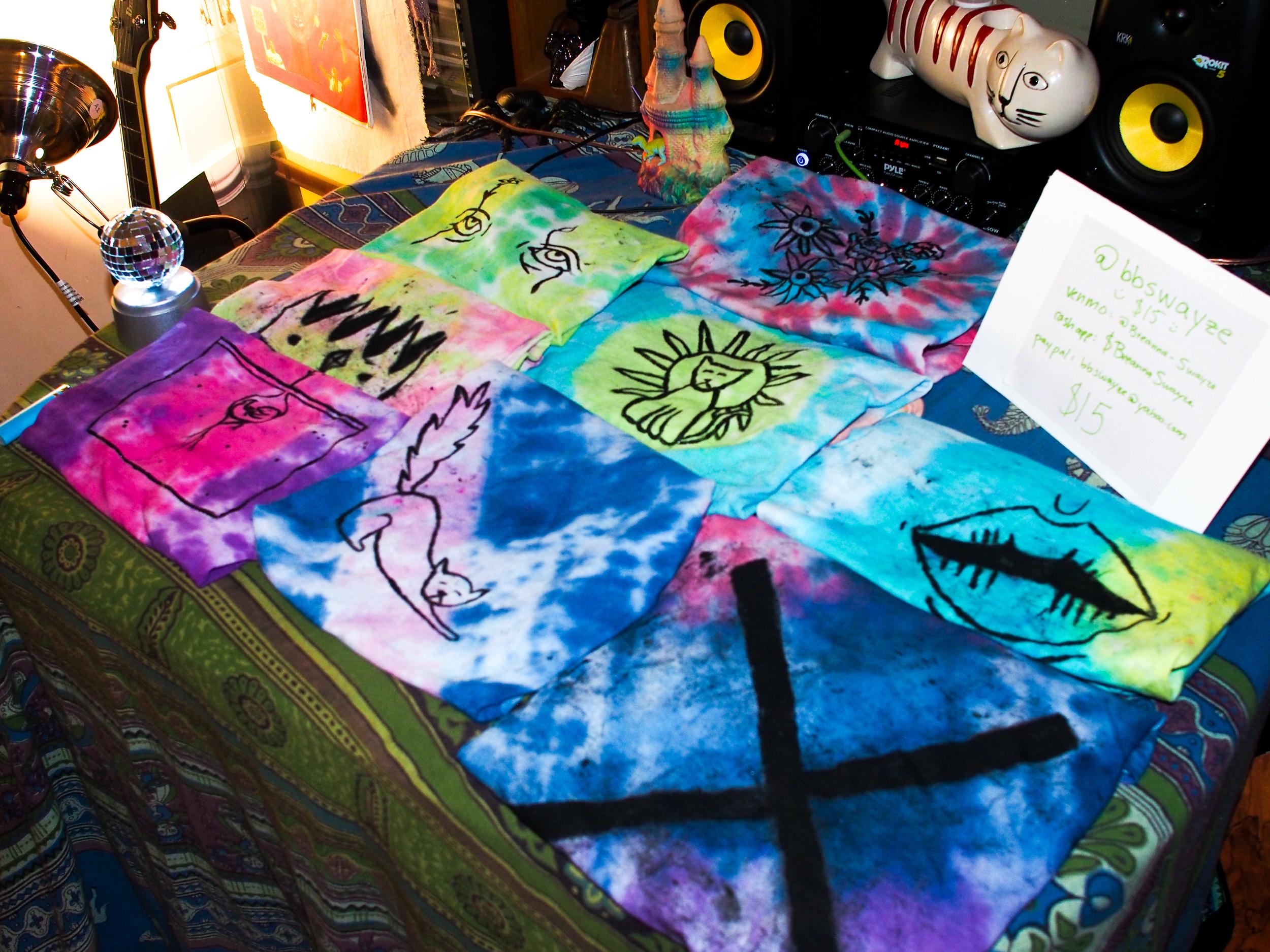 Dope handmade shirts by @bbswayzee