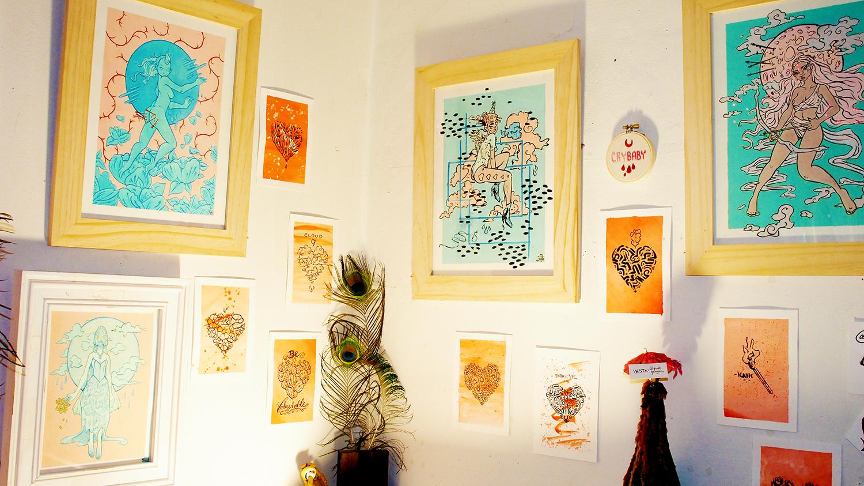 Lily Valentine's (@pinkgorgon) gorgeous illustrations
