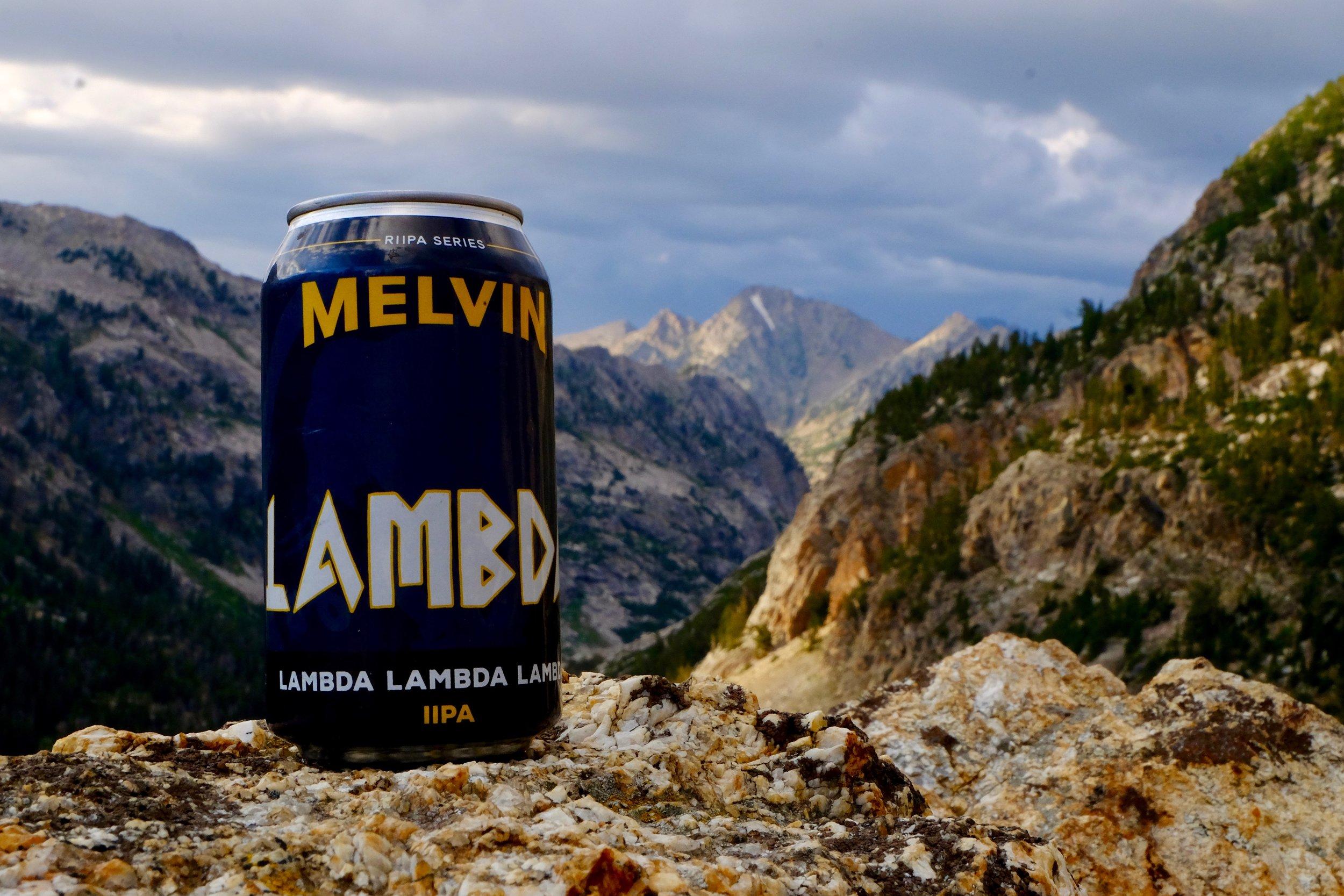 Melvin Brew in the Cascade Canyon