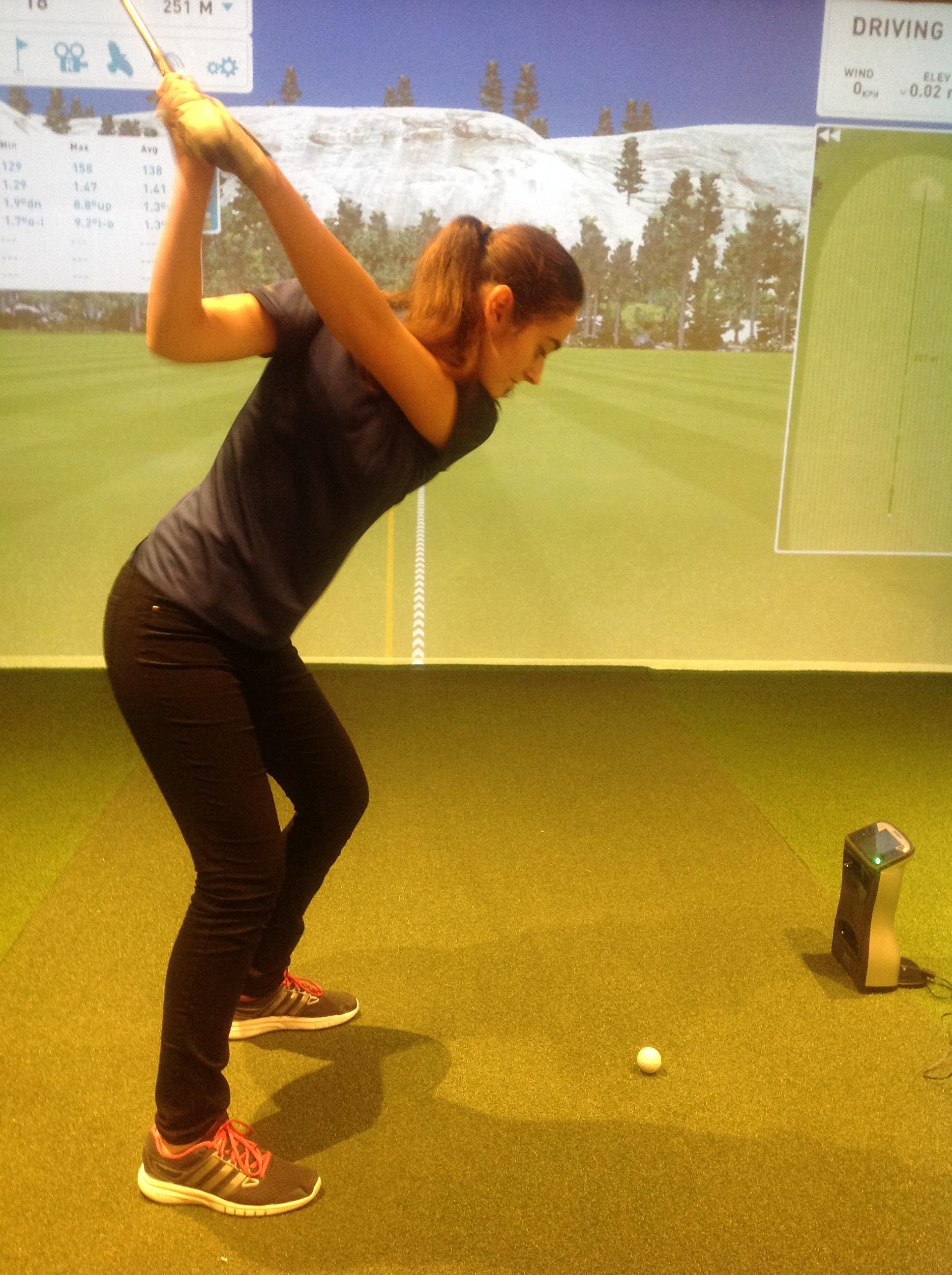 Barbora Šindelářová - Golf Club Austerlitz Extraliga Player. JCGA member.