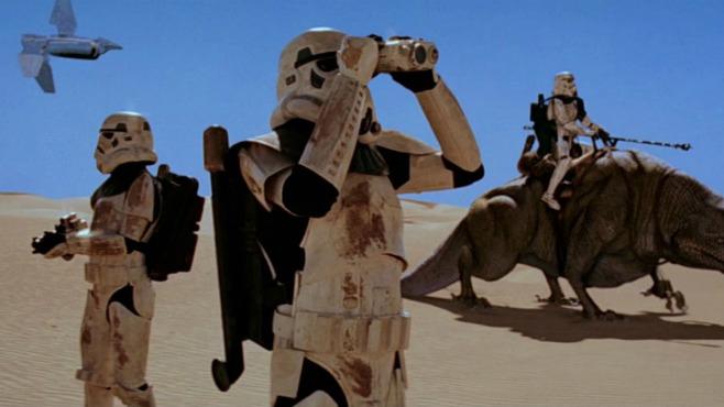 Star Wars Sandtroopers
