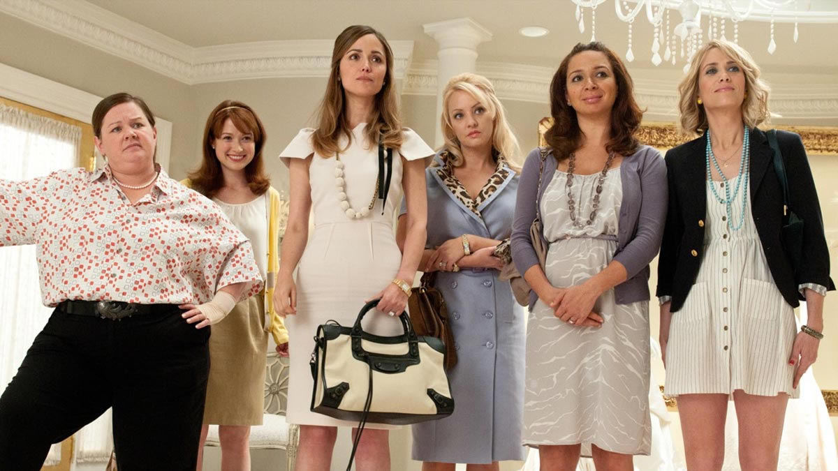 23. Bridesmaids (2011): We would love to see the characters again.