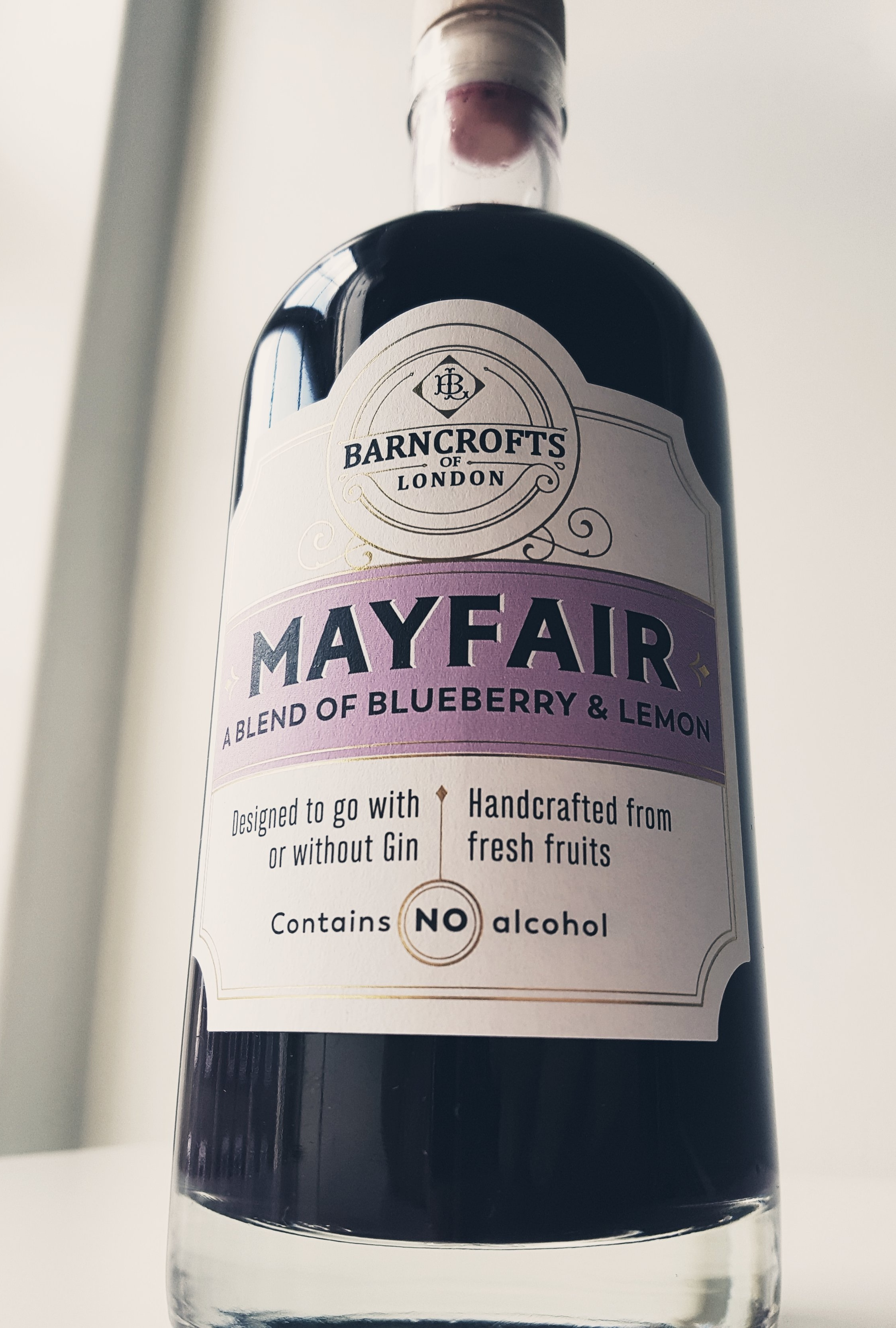 Soft, subtle and sophisticated - Our Mayfair blend creates a fresh & fruity gin cocktail