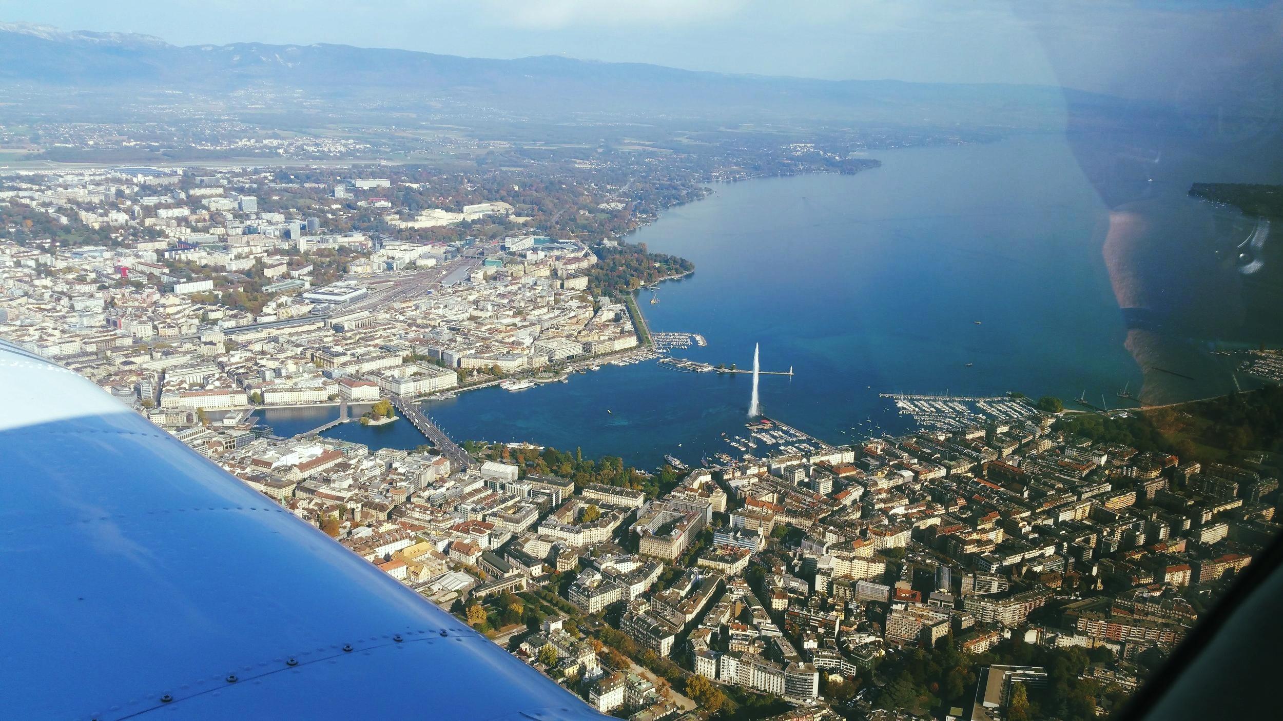 Geneva and its lake