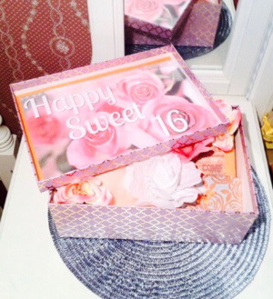 Sweet 16 Youarebeautifulbox Sweet 16 Gift Box For Her Sweet 16 Gift Ideas Youarebeautifulbox