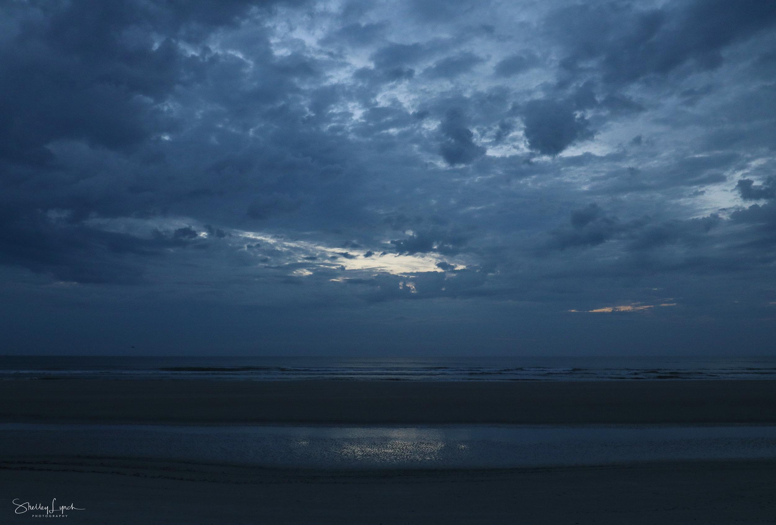 Pre sunrise portal of light