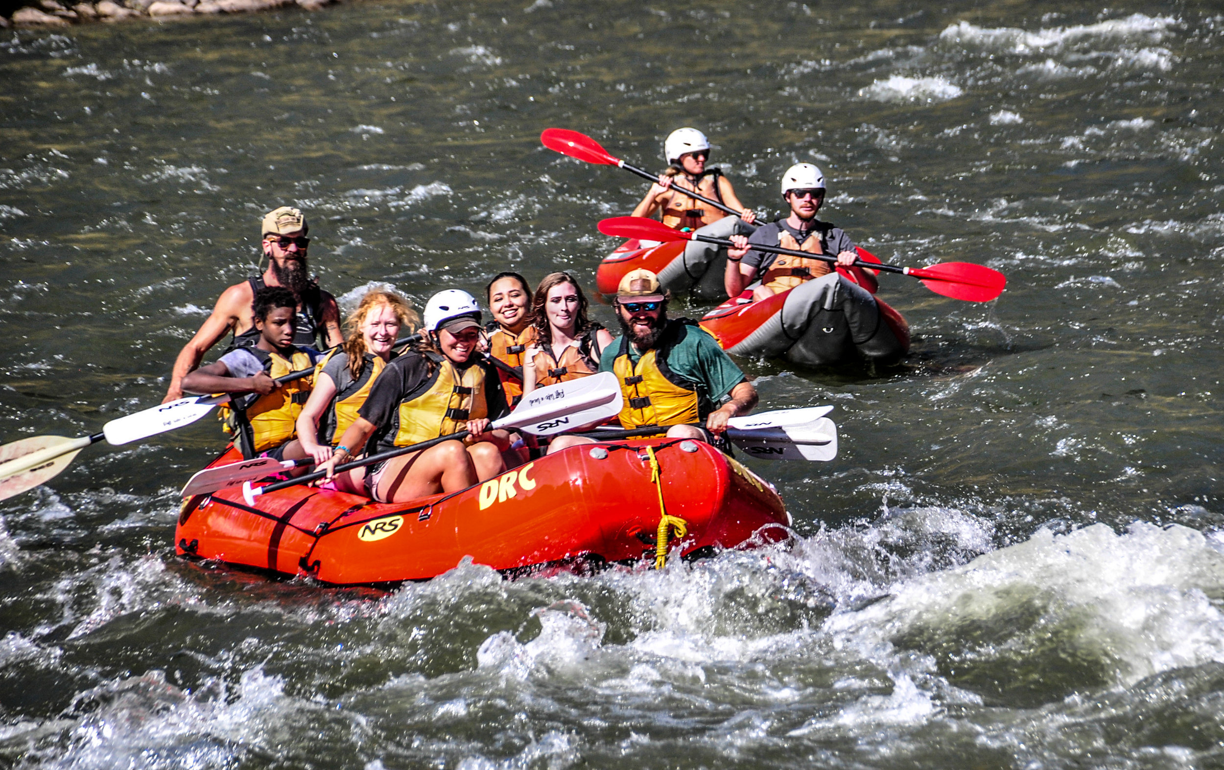 PERFECT FOR: - First-timers and families who want to experience as much of the Colorado River as possible.