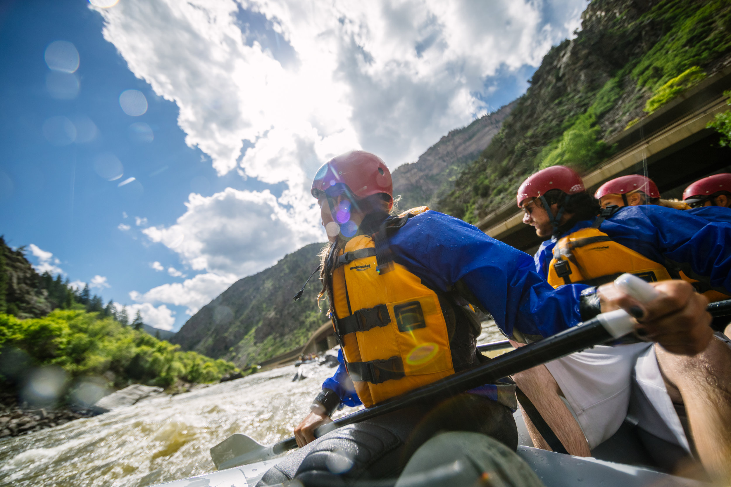 The crowd pleaser. - it has whitewater, inflatable kayaks, & Big Canyon scenery. Yep, it's special.