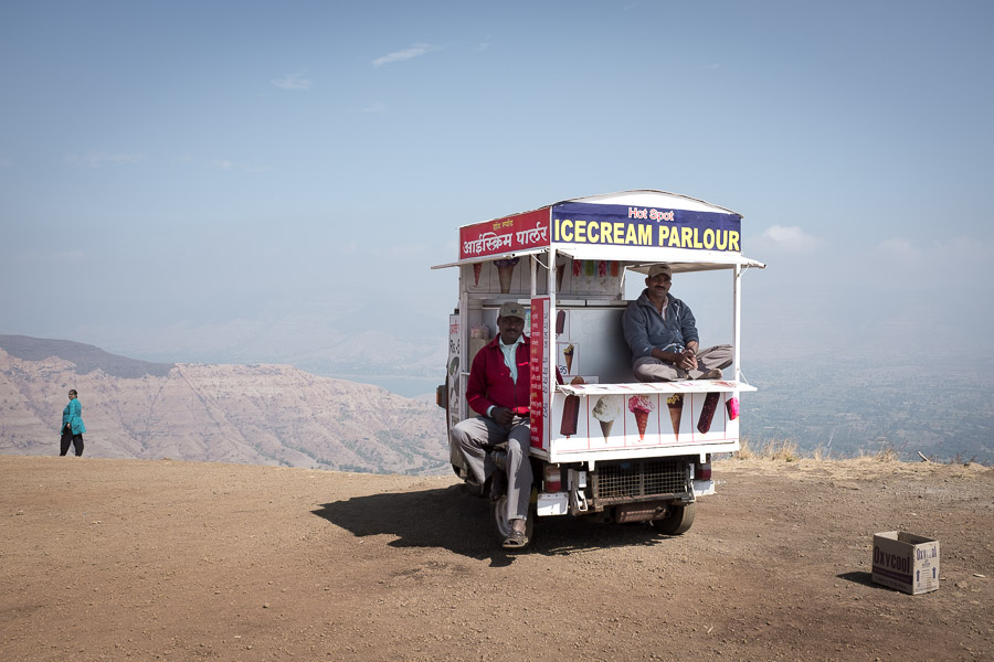 Sometimes you just need ice cream, especially if you're on top of a mountain.