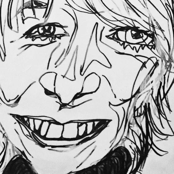 'Gail Forced Wind (Part 1)' Part of my work for 'Blowing A Gail', an exhibition by @woman_stanley based on Coronation Street's Gail Platt . . . . . . #gailplatt #blowingagail #warrington #coronationstreet #corrie #portrait #illustration #penonpaper #art #ukartists #painting #mixedmedia #trump #fart #shewhosmelleditdealtit #lol #toilethumour #womanstanley #corriefan #toomanybakedbeans #selfie #ootd #fashion #sundayfunday #roast