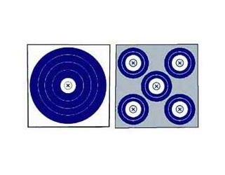 NFAA Style Targets - Shoot Either a 5 spot or a Single SpotCall or stop in for more details