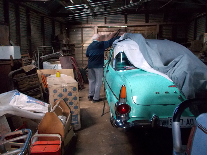 Sue Michael,  Eudunda Storage Shed for the Holden,  2015, digital photograph