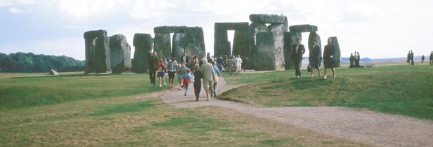 Unknown,  Stonehenge, UK,  year unknown, found 35mm slide