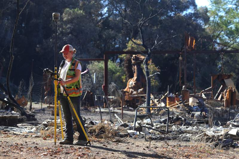 Damaged PG&E Equipment Found Near Origins of Fires - From The Press Democrat