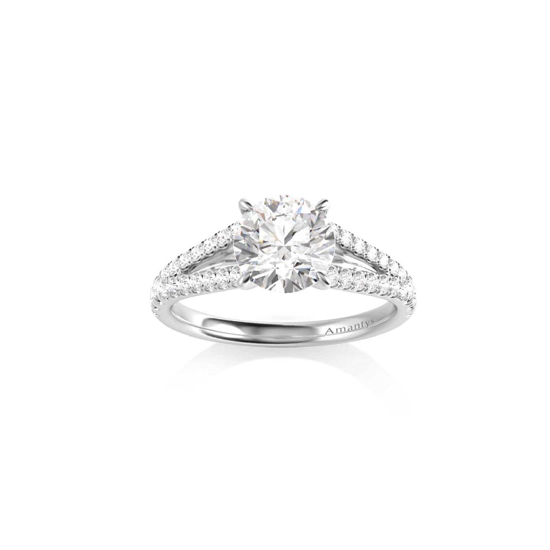 100% authentique moitié prix vente moins chère solitaire-diamant-mariage-bague-de-fiançailles-sur-mesure | Elégante
