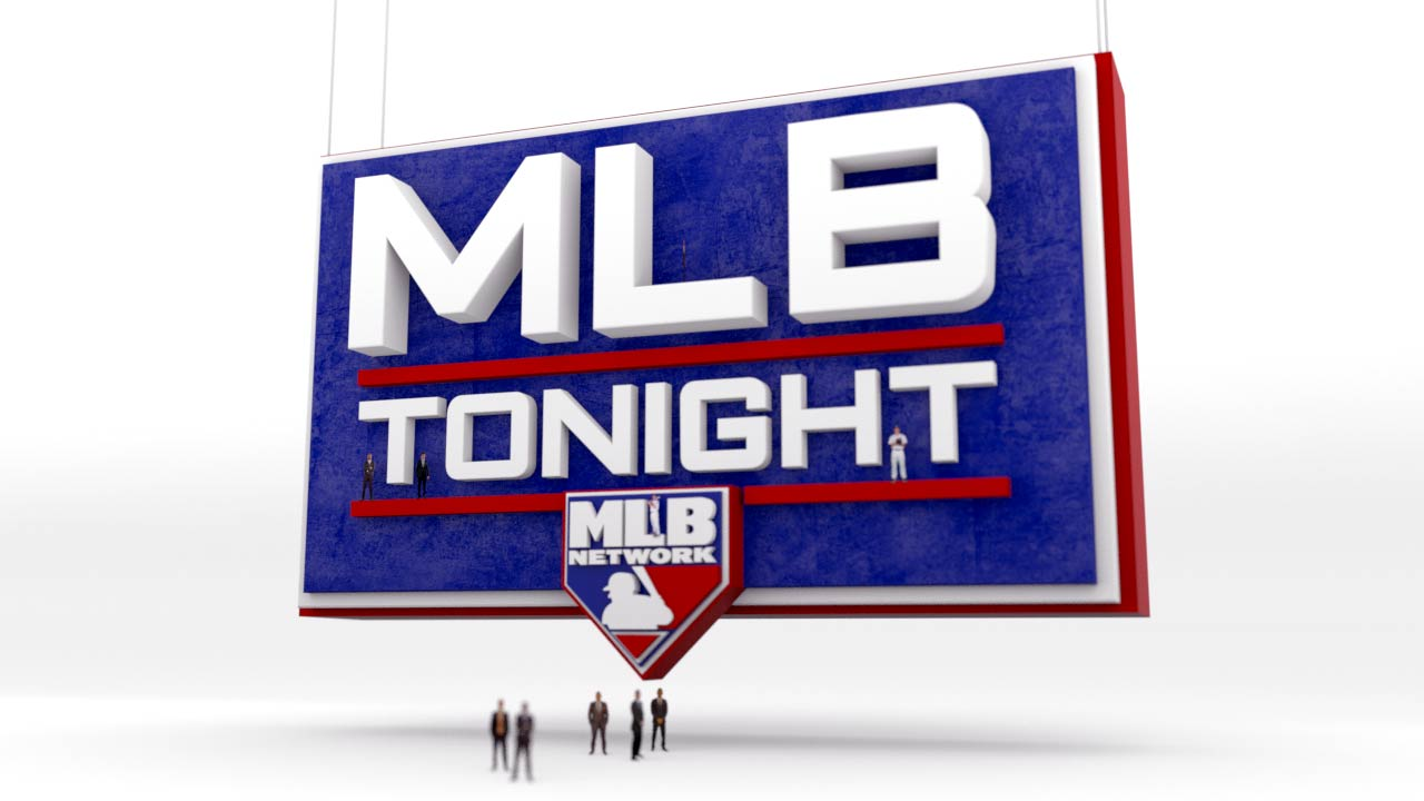 Style Frames - The concept for this years 2019 Opening Day promo was to have the MLB Tonight logo larger than life, with the analysts and All-Stars from around the league located throughout. See how we went from design frames to final product.