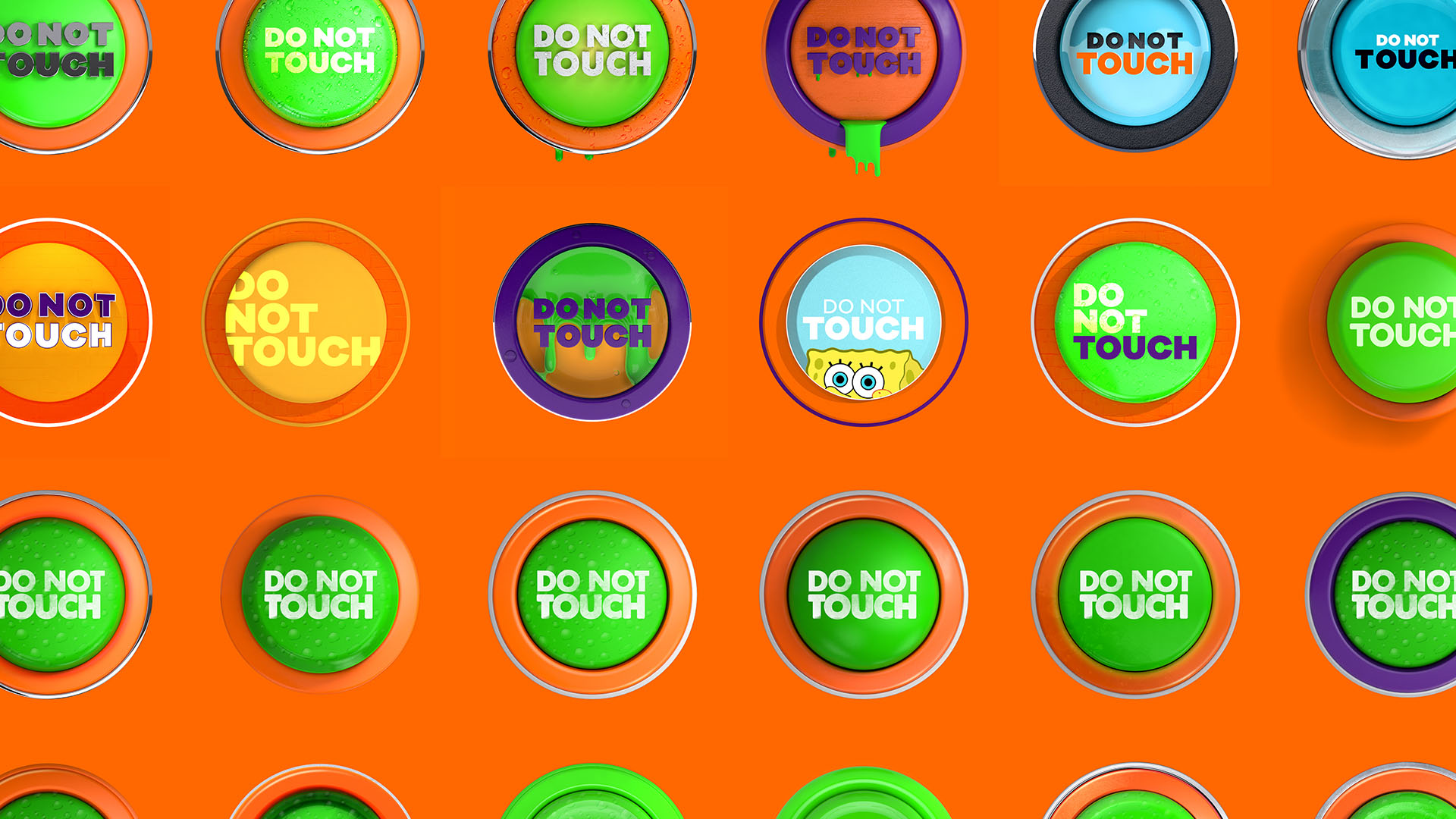 Logo Designs - Take a look at our latest design project with Nickelodeon to see the variety of button designs, along with the final version online now.