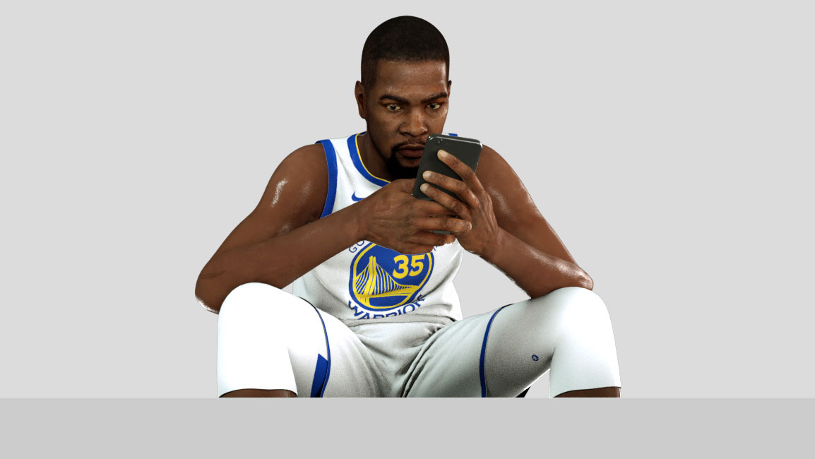 Our Role - NBA free agency is officially open! We created a CG Kevin Durant to interact with Instagram comments from players around the league. You can also view on all Bleacher Report social channels, receiving nearly 10M views in the first few days.View Instagram post here