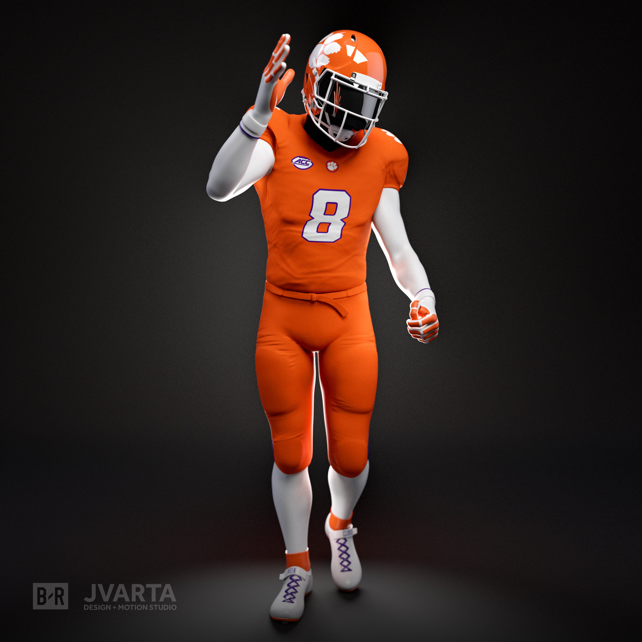 Breakdown - Here's a breakdown of how we created the CG football players for the 360/VR experience with Bleacher Report.