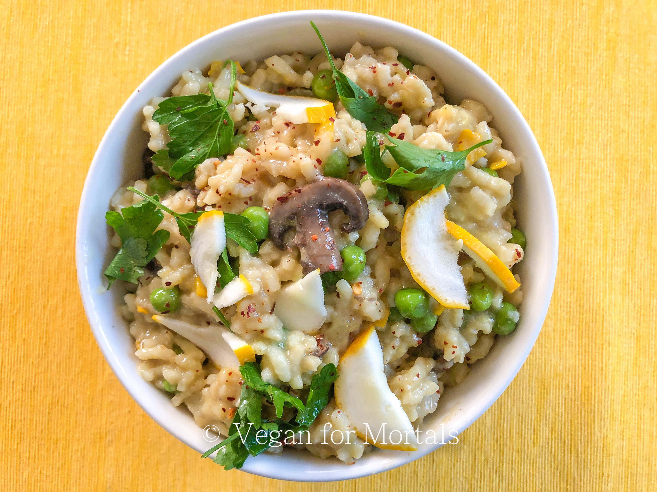 Summer Risotto