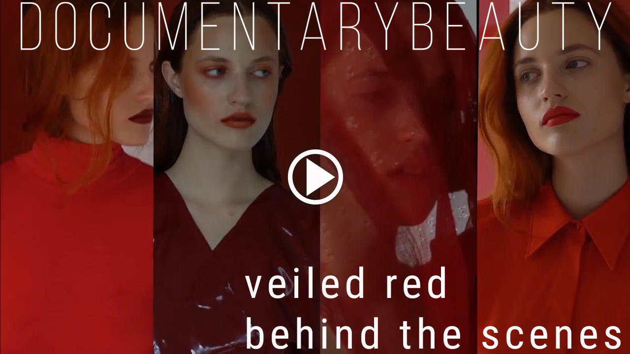 DOCUMENTARY BEAUTY Veiled red Behind The Scenes