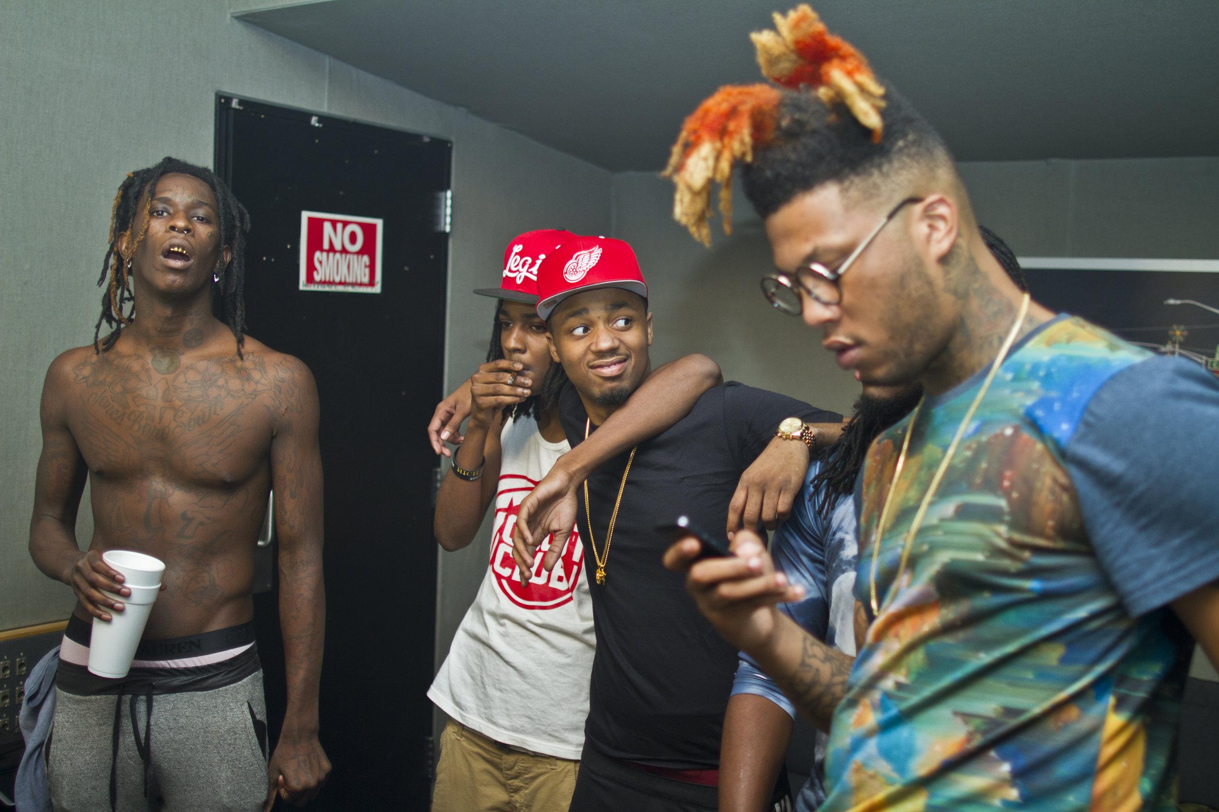 Young Thug, DJ Lil Keem, Metro Boomin, TM88, Atlanta, GA 2013