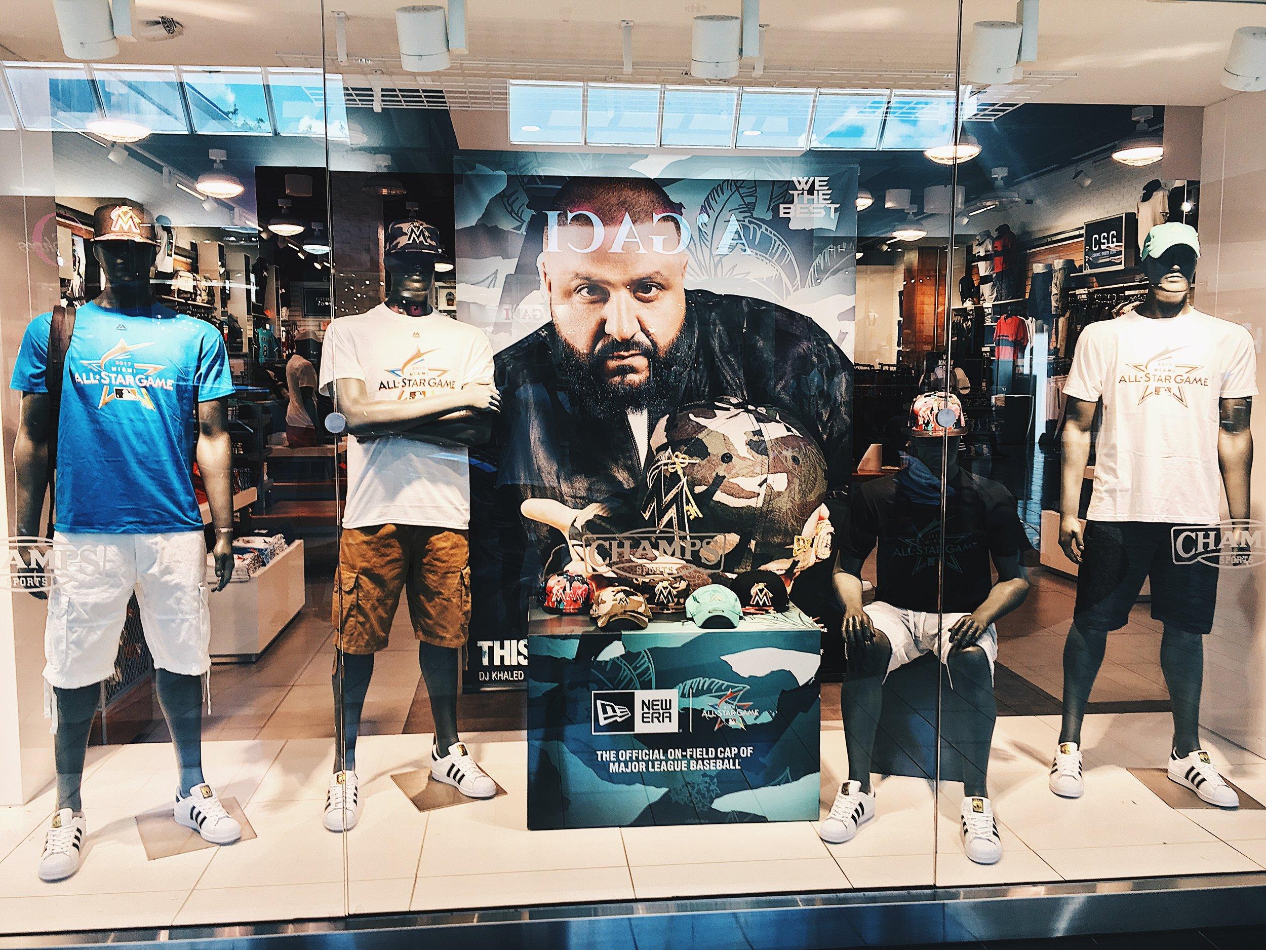DJ Khaled for Major League Baseball x New Era x Champs Sports