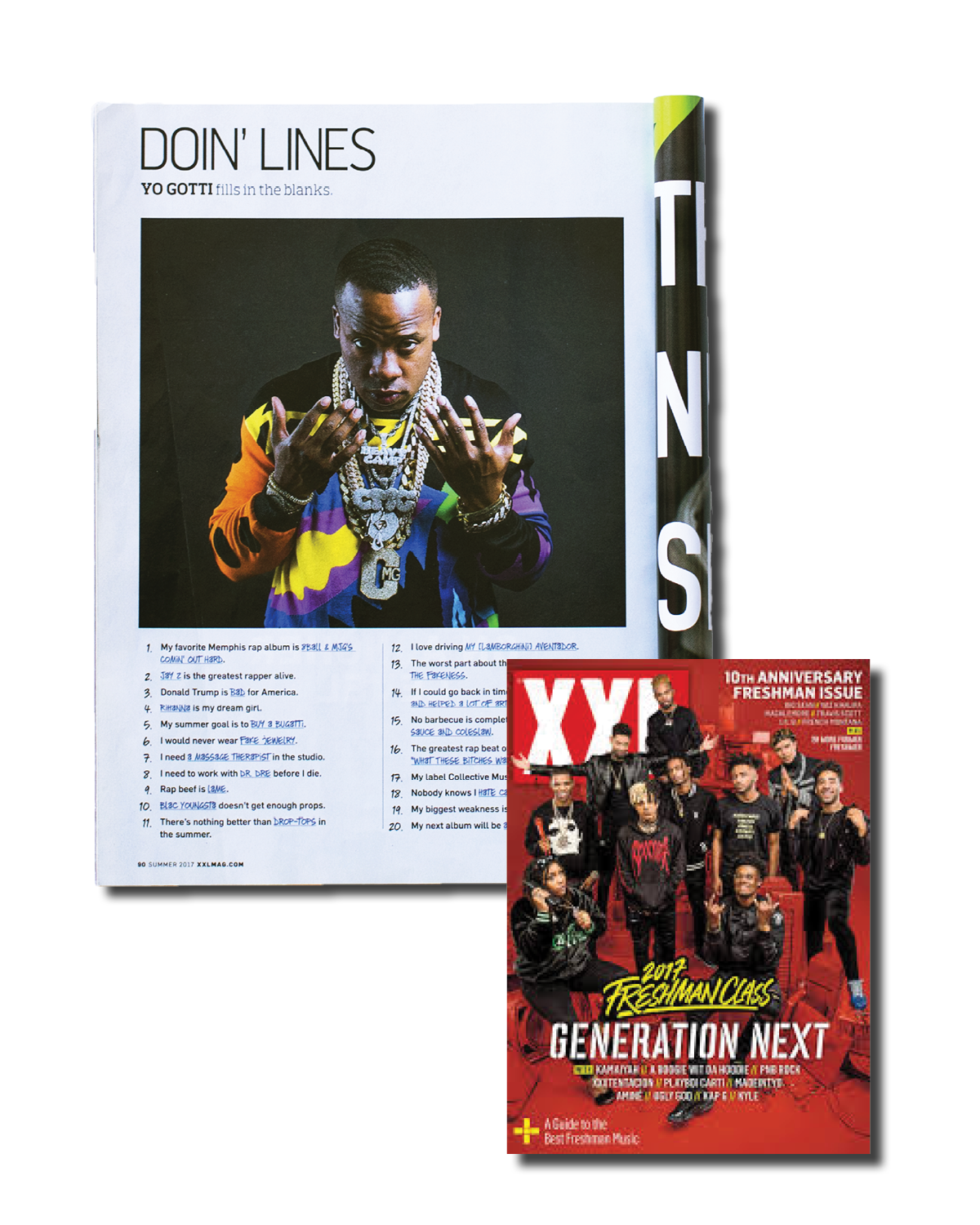 Yo Gotti for XXL Magazine Freshman Issue, 2017    ( click to see more )