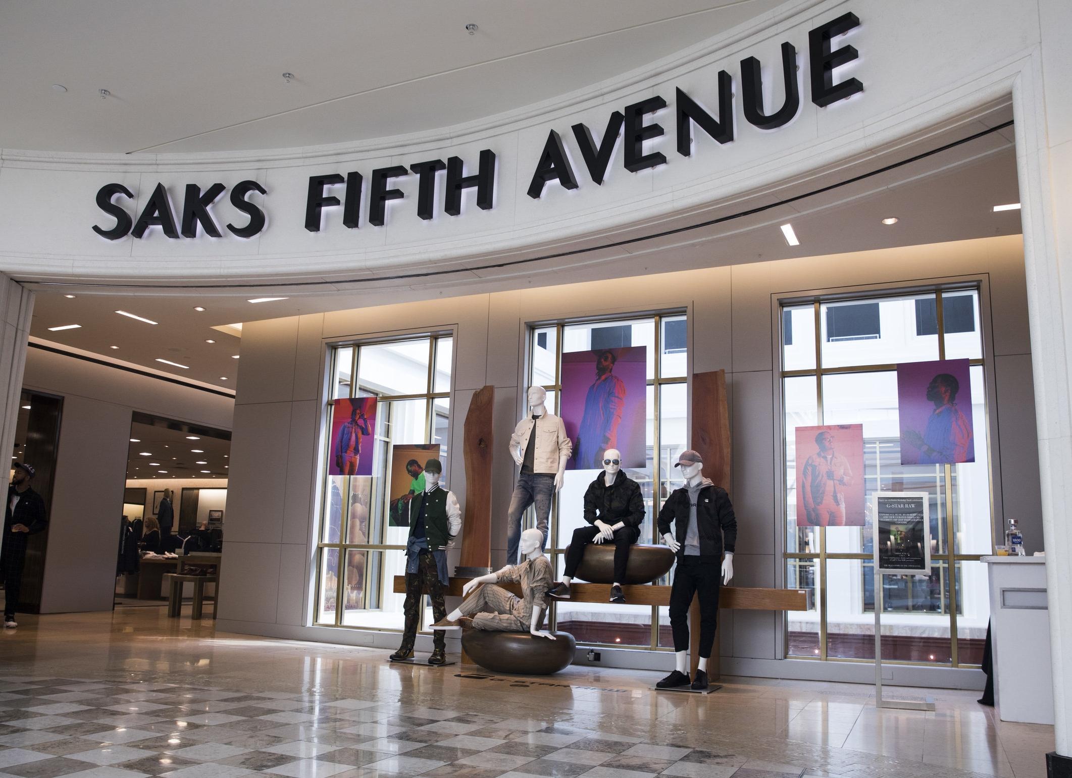Hoodrich Pablo Juan & Gunna for GStar, Saks Fifth Avenue Installation, Atlanta, GA 2018    (click to see more)