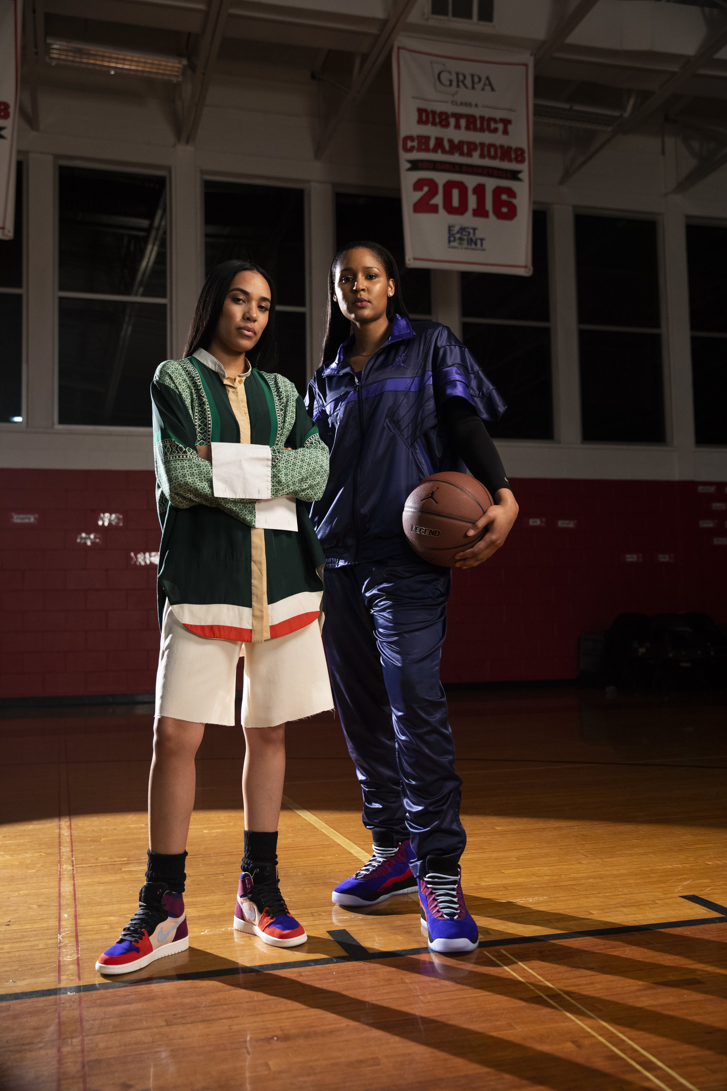 Coveteur Aleali May & Maya Moore - November 2018