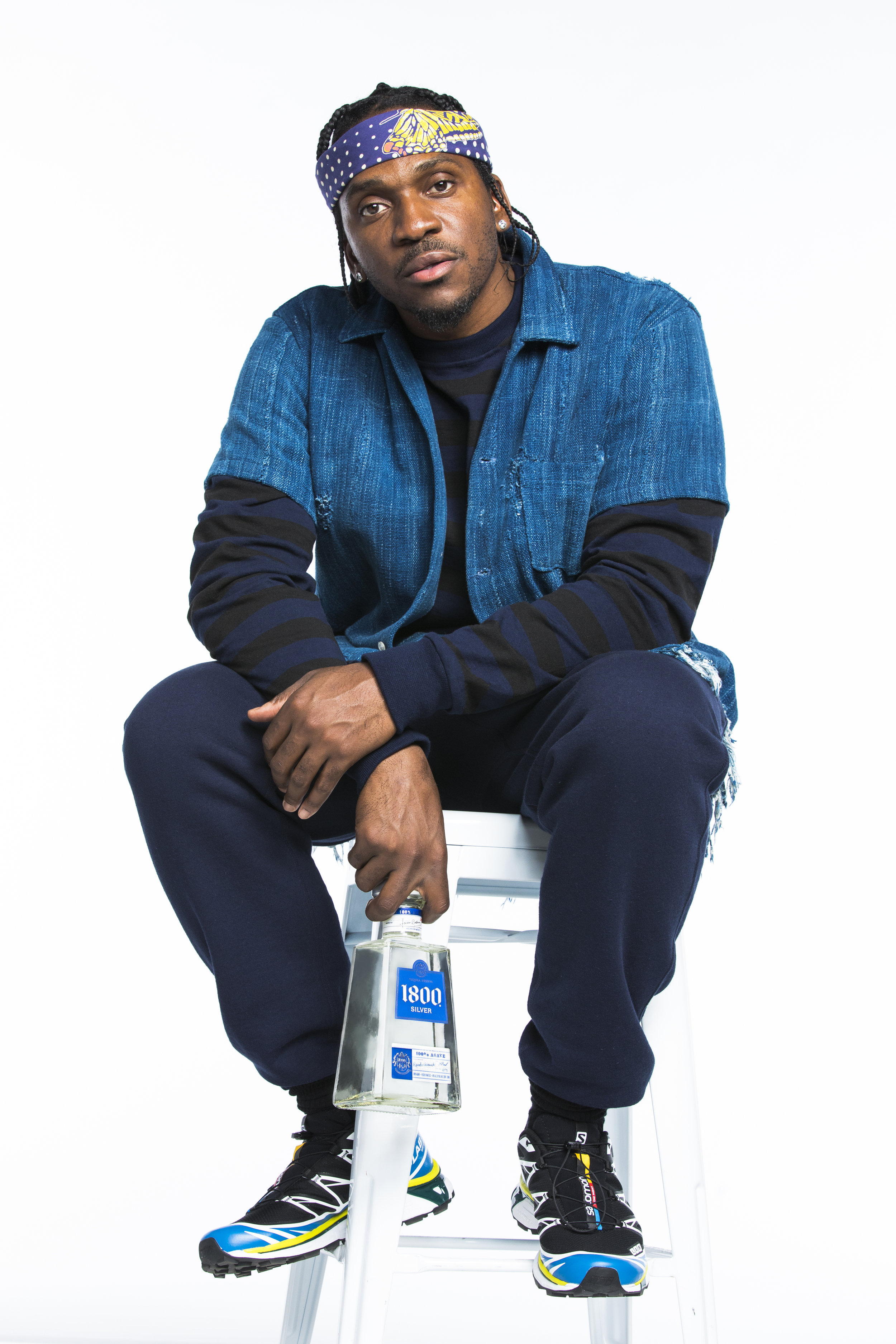 Pusha T for 1800 Tequila, Los Angeles, CA 2018    (click to see more)