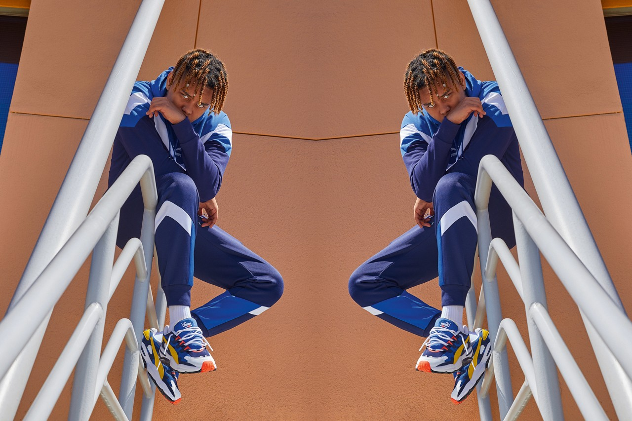YBN Cordae for Puma, Los Angeles, 2019    (click to see more)