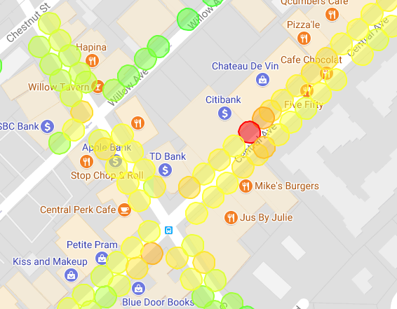 Check your occupancy heat map to see where the activity is right now.