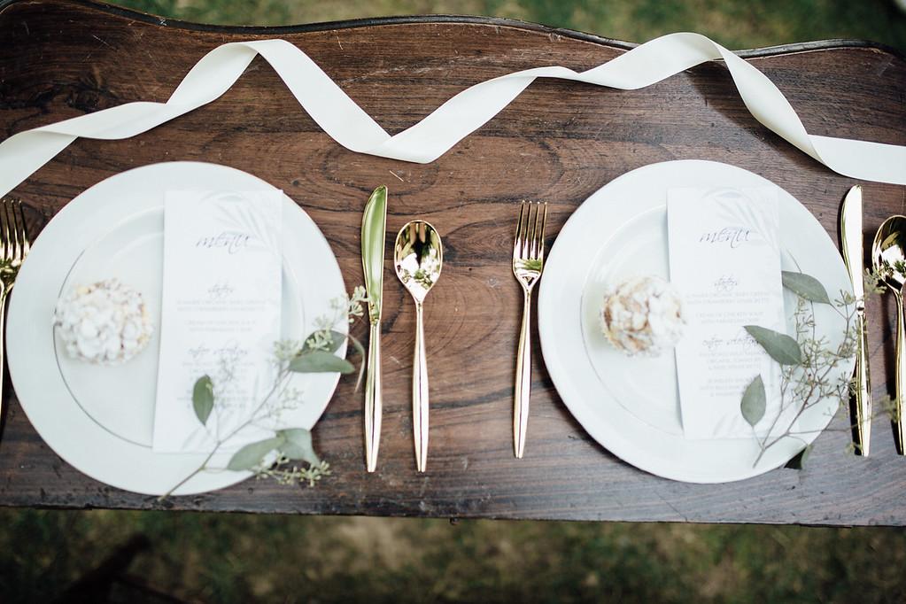 Wedding Menus
