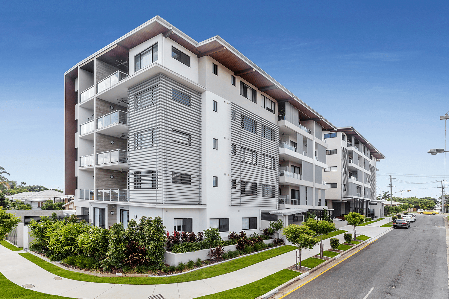 """<p class=""""project-name""""> Lumley St, Upper Mount Gravatt</br><p class=""""project-category"""">Multi-residential</p>"""