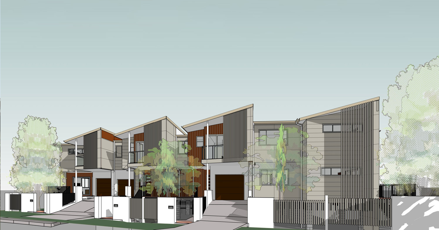 Multi-residential - Five Townhouse Development  (Broomfield St)