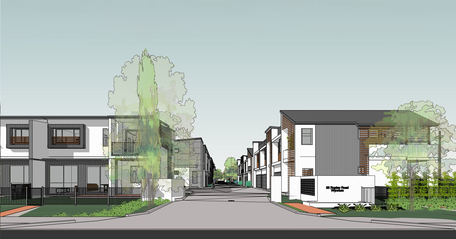 Multi-residential - 62 Townhouse Development (Ropley Road)