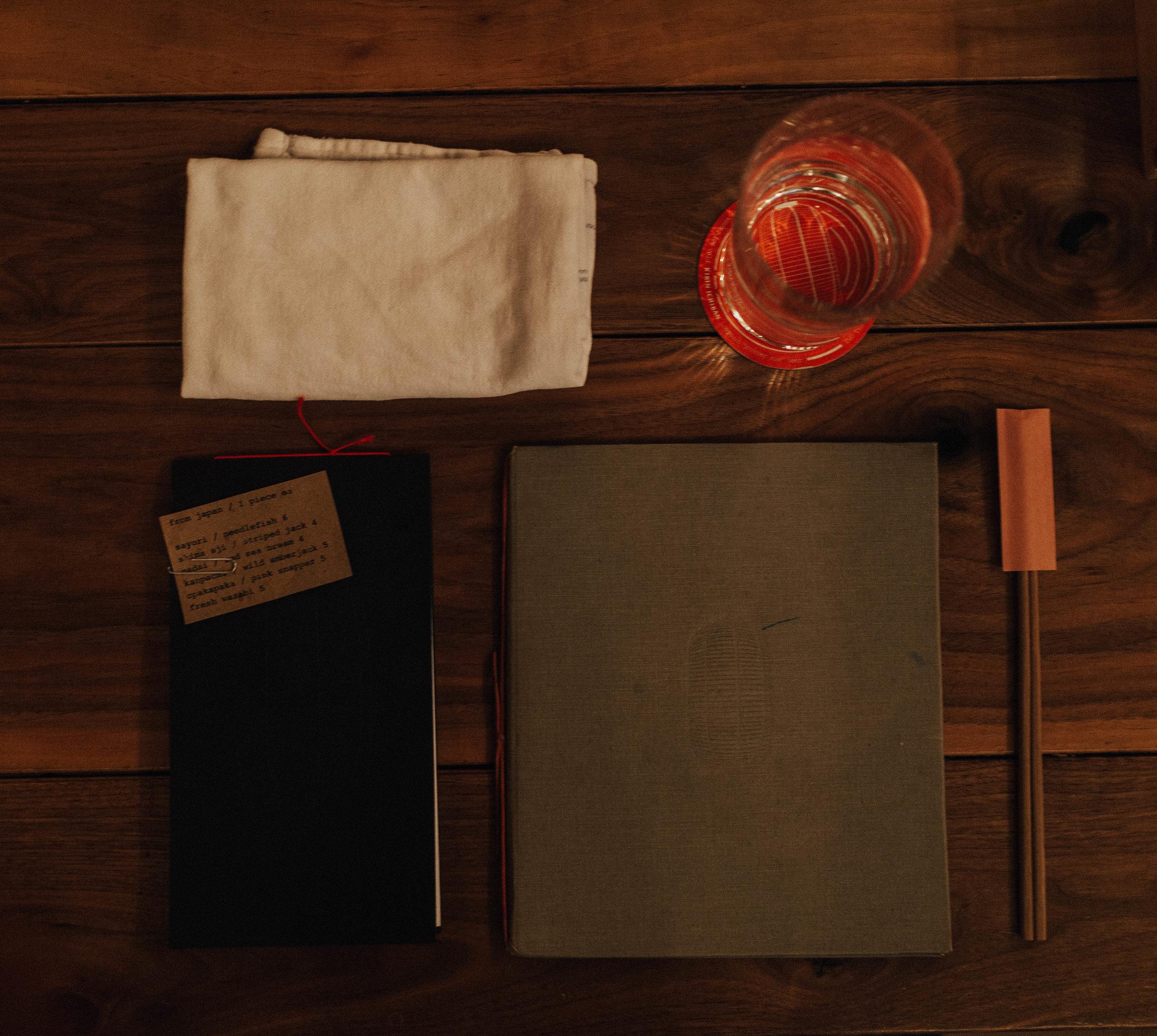 Cocktail and Regular Menu