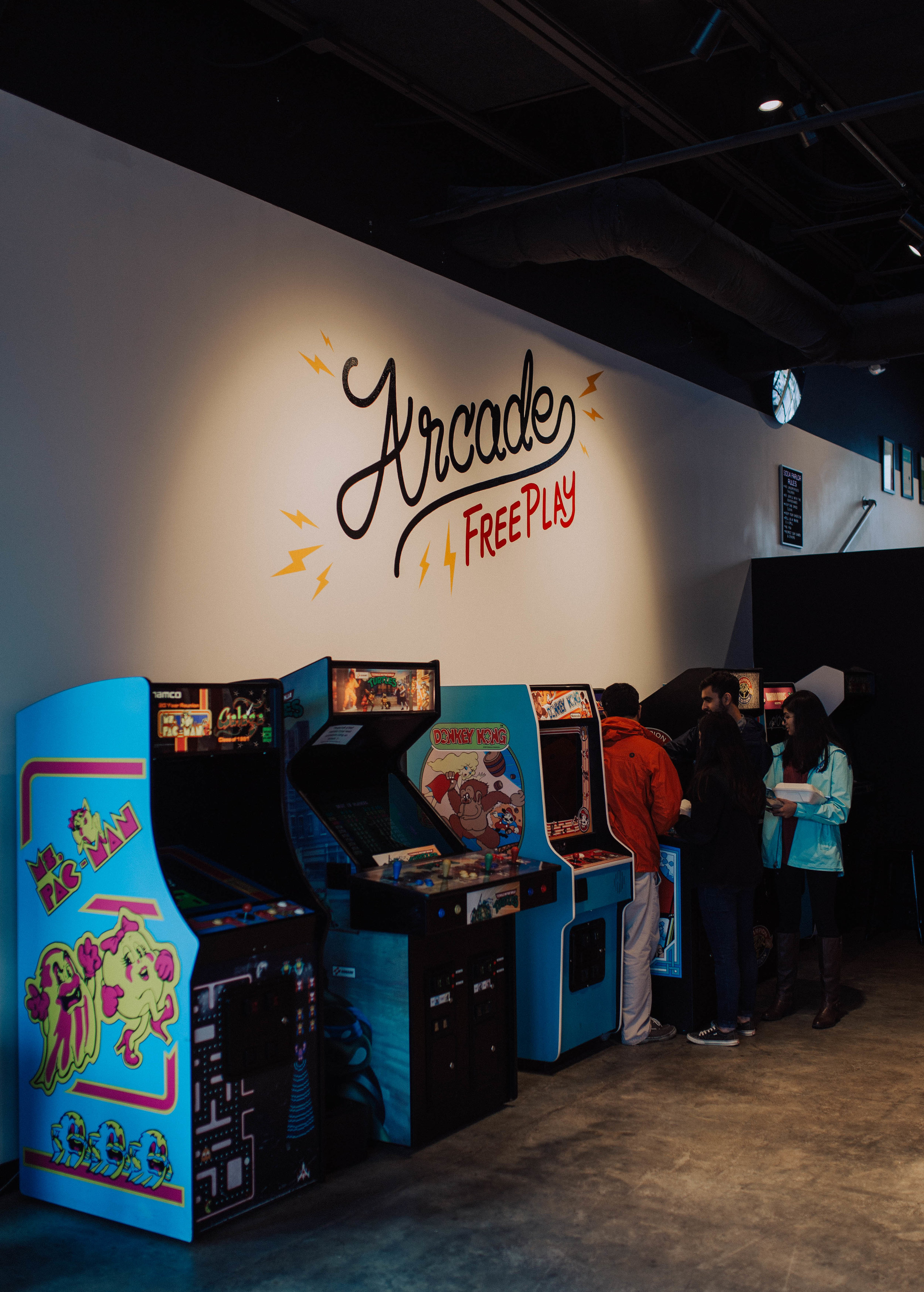 free arcades