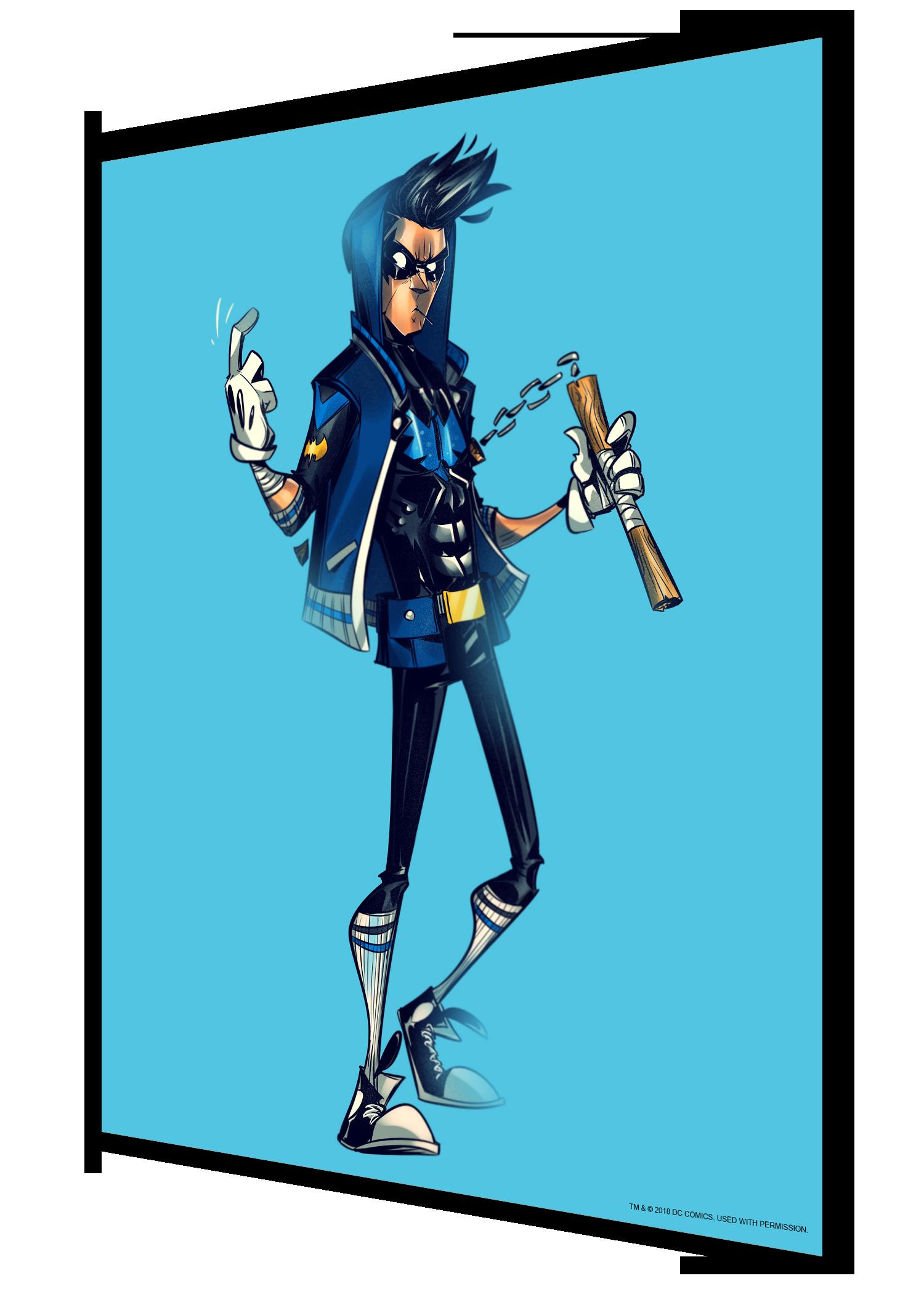 #dc18 - nightwing (super rare)