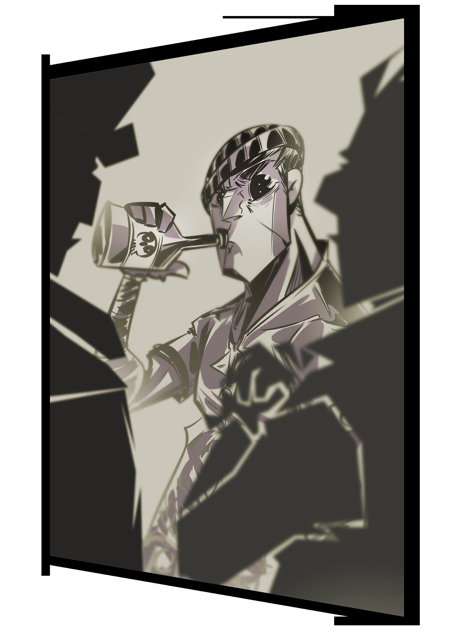#121 - boozer (super rare)