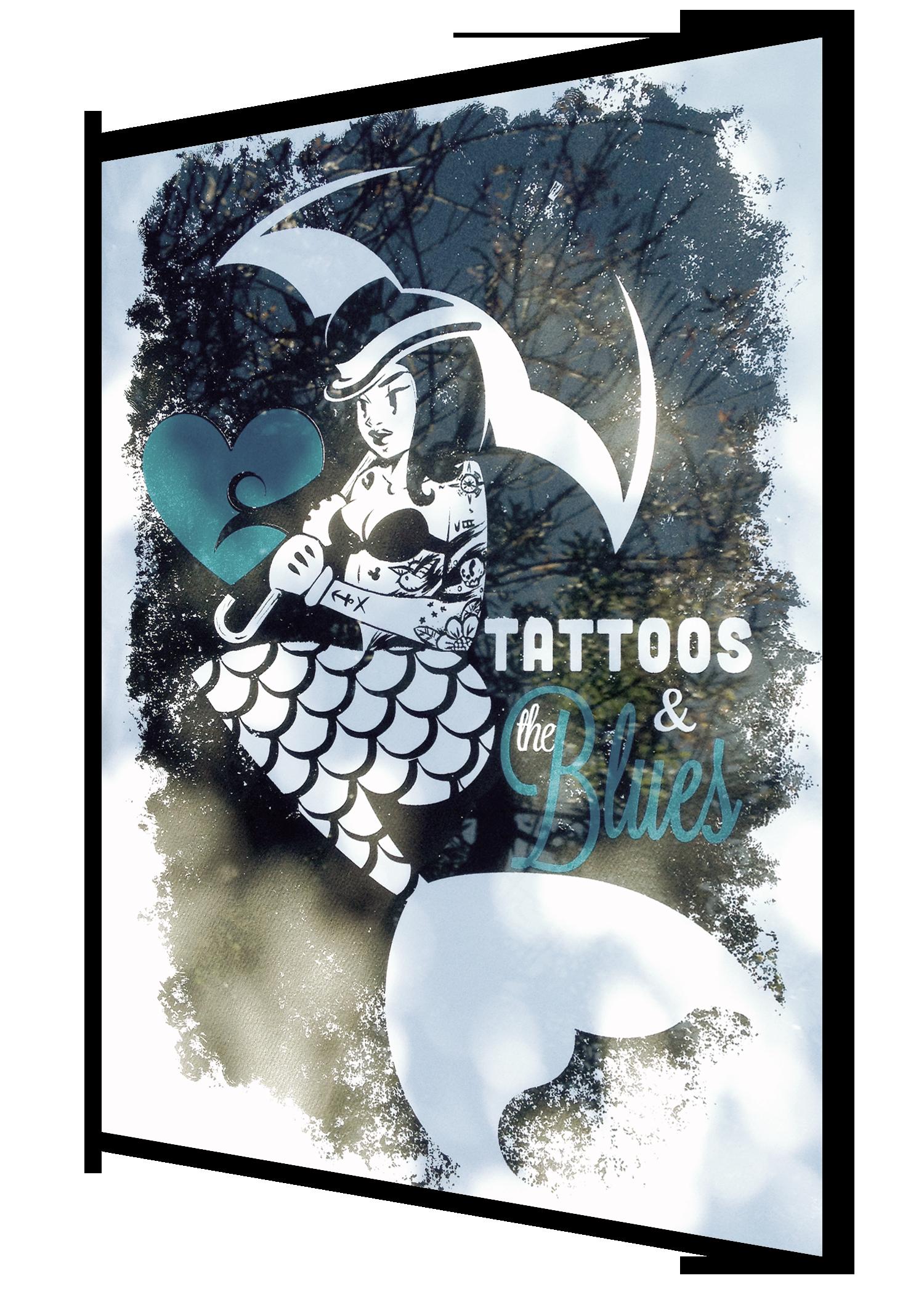 #SE6 - tattoos n blues (super rare - sticker)